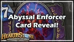 [Hearthstone] Abyssal Enforcer Card Reveal!