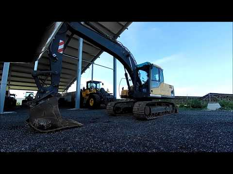 Tracked Excavator Inspection By Mevas With Full Used Machine Checklist