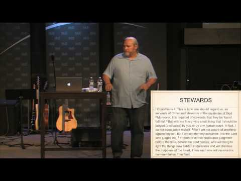 """August 29th Service - Worship and """"Managers of the Mysteries"""" with Alan Hawkins"""