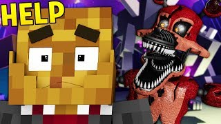 REALISTIC FIVE NIGHTS AT FREDDY'S IN MINECRAFT (FNAF HORROR Modded Mini-Game)