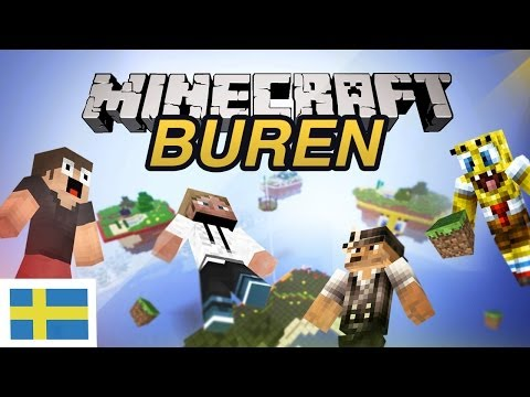 Minecraft Mini-Game: Buren! (Svenska)