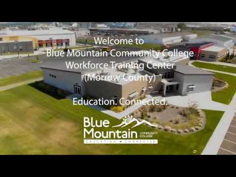 Blue Mountain Community College Virtual Campus Tour - Workforce Training Center (Morrow County)