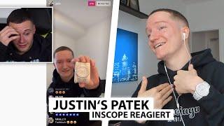Justin reagiert auf Inscope's Meinung zur neuen Iced Out Uhr.. | Reaktion