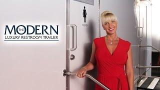 'The Modern' Luxury Portable Restroom Trailer | CALLAHEAD | NY | Portable Restroom Trailer Video
