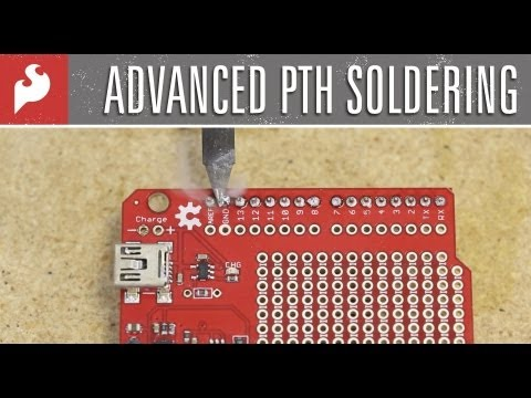SparkFun Advanced PTH Soldering