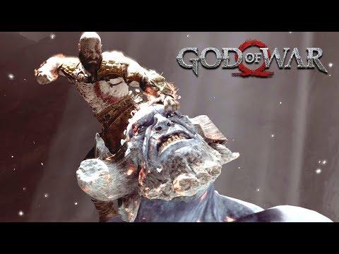 GOD OF WAR - #10: Coração da Montanha (Gameplay em 4K do PS4 Pro)