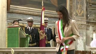 Festa della Polizia di Roma Capitale, intervento della Sindaca Virginia Raggi