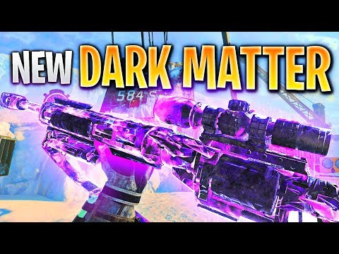 The NEW DARK MATTER CAMO on BO4 (Dark Matter Sniping Gameplay)