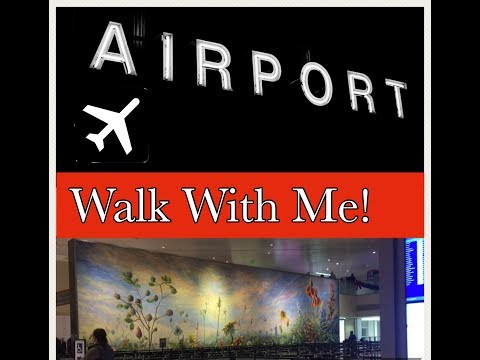 Walk With Me at the Airport! *Dallas Love Field Airport*