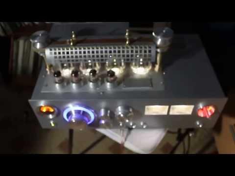 видео: Ламповый усилитель на ГУ-29.