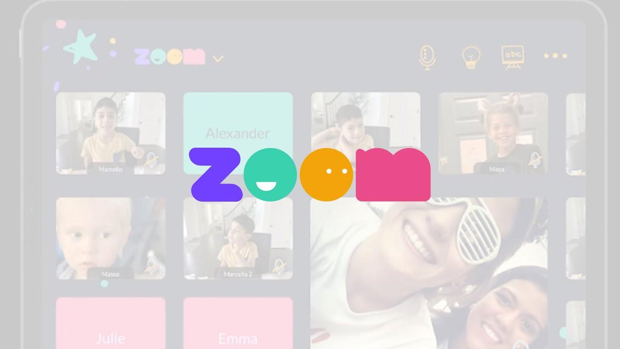 Zoom Kids - A Zoom concept by Pamela Porto || Crema Design Challenge