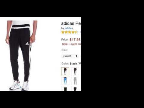 Adidas Performance Pants For Men & WomenGreat Buy On Amazon!!