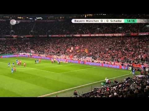 Rauls Tor für Berlin in Bayern DFB Pokal Halbfinale