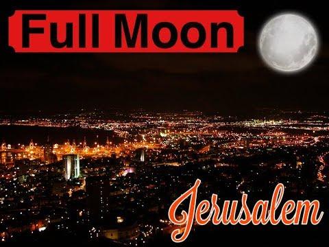 Israel, Jerusalem | FULL MOON NIGHT😍 | ProCamShots