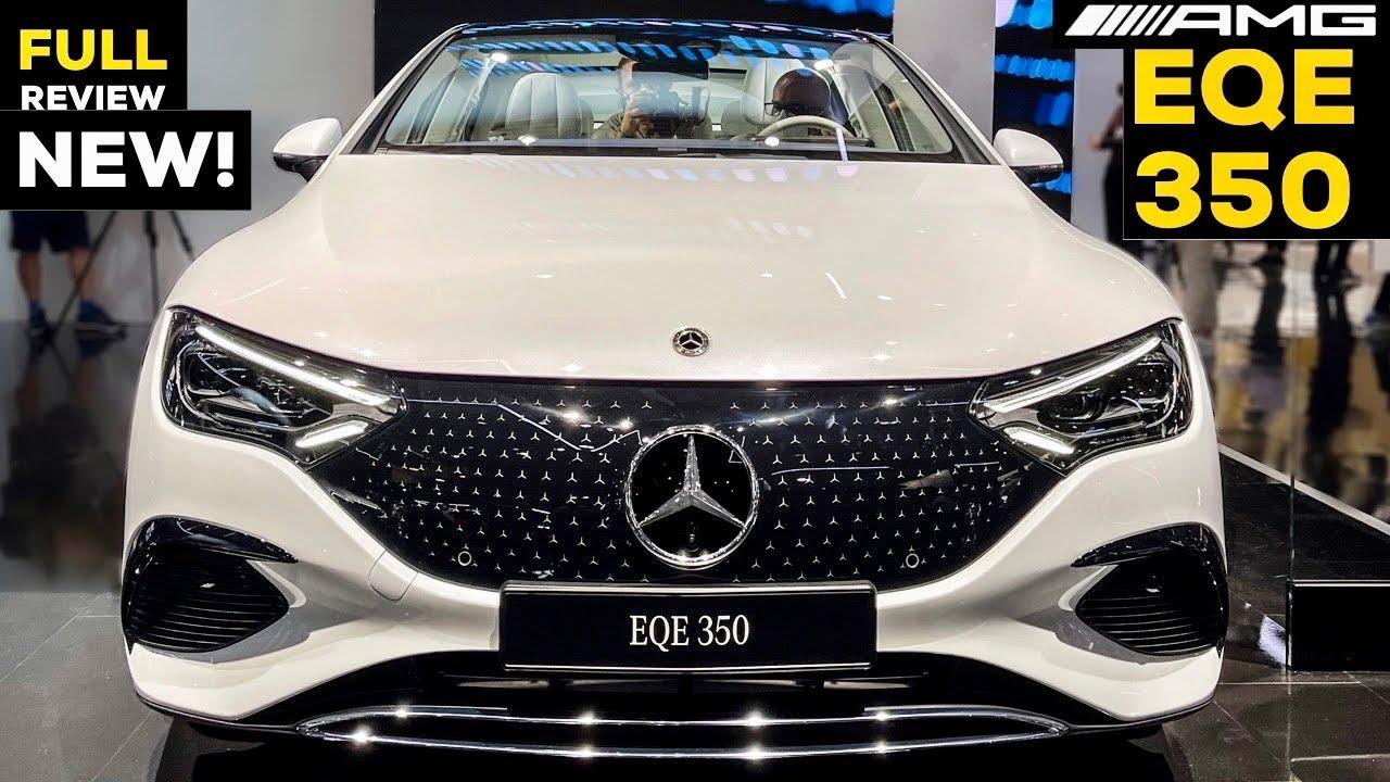 2022 MERCEDES EQE 350 AMG Sedan ALL NEW Electric E Class FULL Review Exterior Interior MBUX