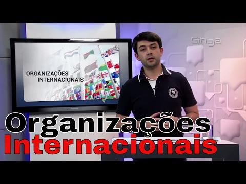 Geografia - Organizações Internacionais