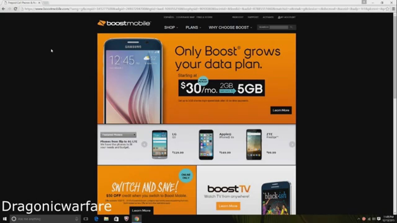 How to activate a boost mobile phone on the new boost mobile website (HD)