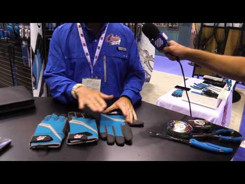 Cuda Wire Wrapping, Offshore and Bait Gloves - ICAST 2017