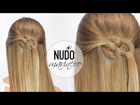 Peinado Con Nudo Marinero Youtube