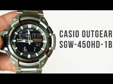 Sgw Casio Outgear Sgw Casio Outgear 450hd 1bUnboxing 450hd Yf6gyIb7vm