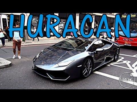 1st uk lamborghini huracan in london - Lamborghini Huracan Grey
