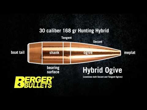 Berger Hybrid Hunting Bullet Explained