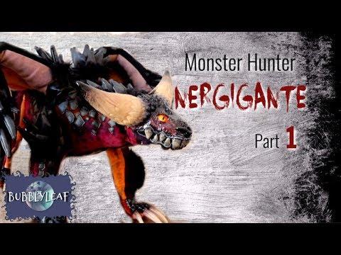 Monster Hunter Nergigante Part 1 || Posable ArtDoll Tutorial