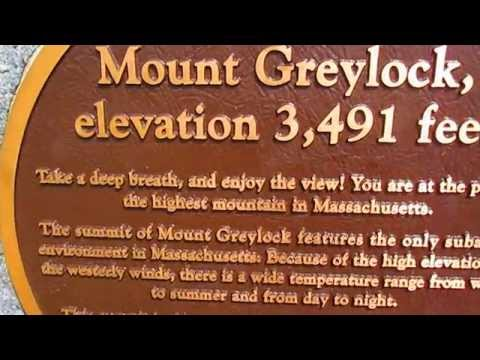 Mount Greylock, the highest point in Massachusetts