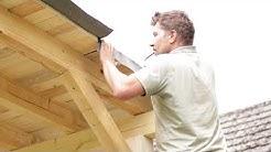 Anleitung eigenbau Gartenhaus, Geräteschuppen, Carport oder Sauna günstig und stabil aus Holz