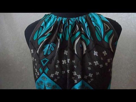 Как Сшить Платье с Американской Проймой - DIY Стиль - Guidecentral