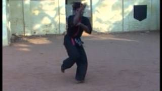 Indian Kung-fu Snake Style Training Demo year 1999 Grand Master Shifu Prabhakar Reddy AP Wushu