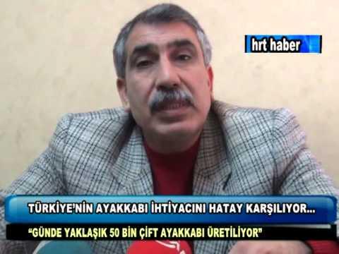 TÜRKİYE'NİN AYAKKABI İHTİYACINI HATAY KARŞILIYOR...