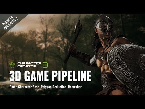 Character Creator 3 - 3D Game Pipeline: Characters for Unity