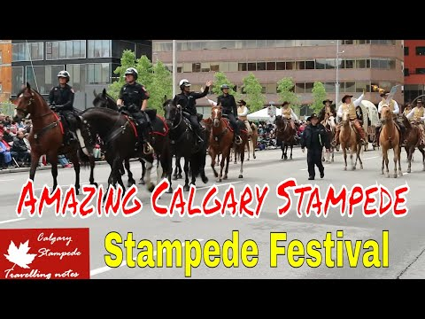 Amazing Calgary Stampede 5 July 2019 @3