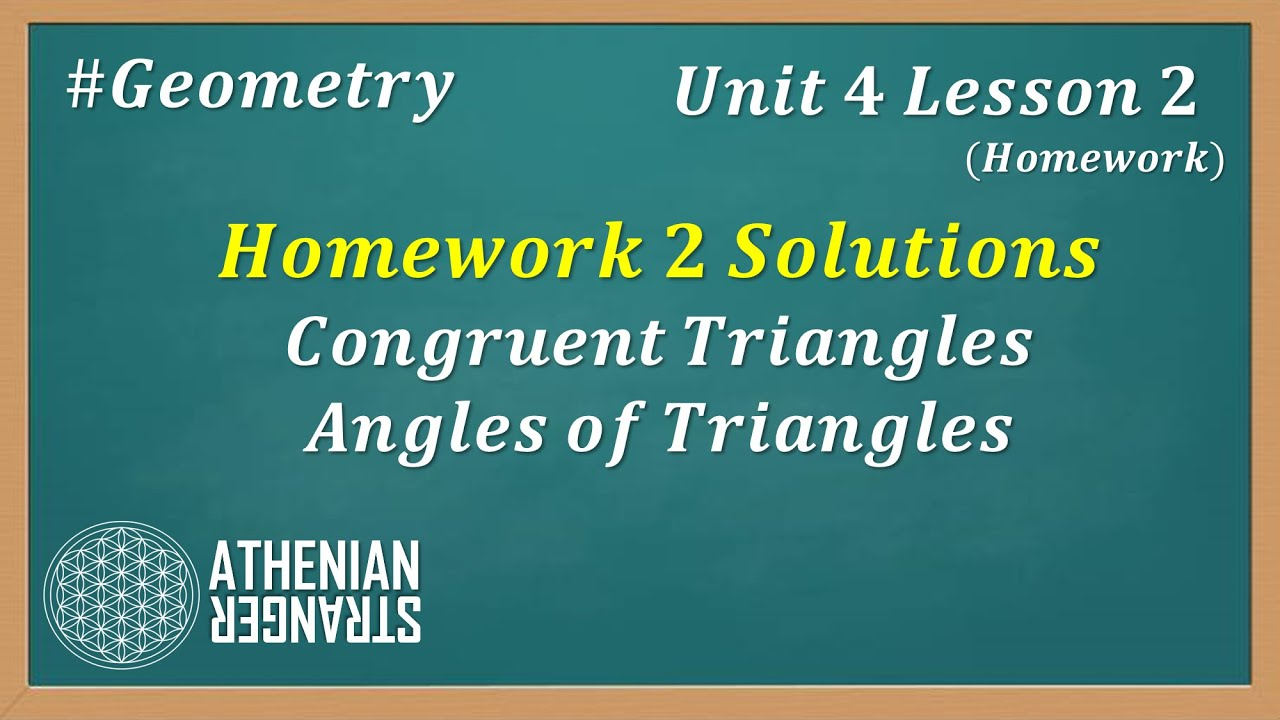 Unit 6 Relationships In Triangles Gina Wision - 4 Geometry ...