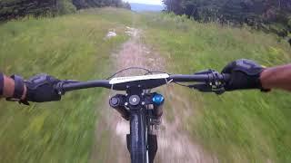 Funny Bone mountain bike trail @ Killington My VT.