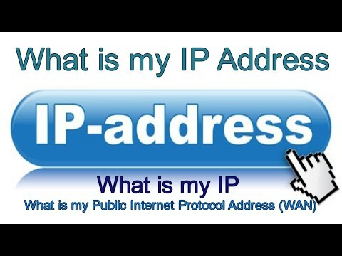 What is my IP Address | WAN IP Address | Public IP Address | What is my IP |  IP