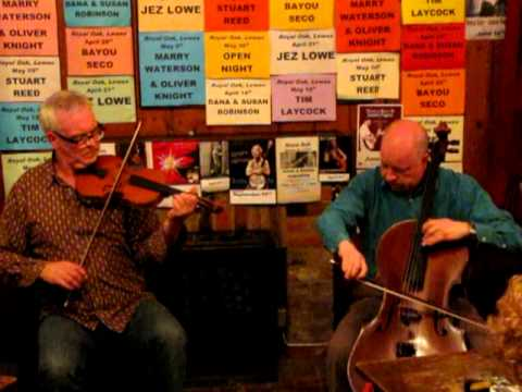PETE COOPER & RICHARD BOLTON - August  Charlesworth Hornpipe - Royal Oak Folk Lewes