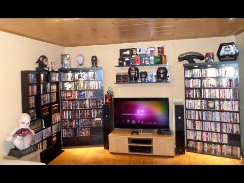 overview meiner dvd und blu ray sammlung 2015 youtube. Black Bedroom Furniture Sets. Home Design Ideas