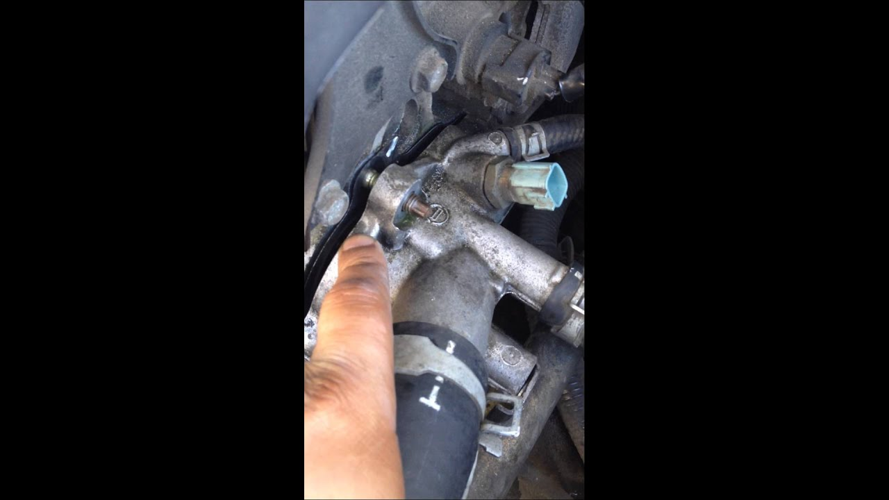 2002 Nissan Altima Thermostat 1 Youtube