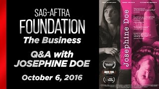 The Business: Q&A with Josephine Doe