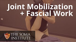 Joint Mobilizations and Fascial Work in Prone