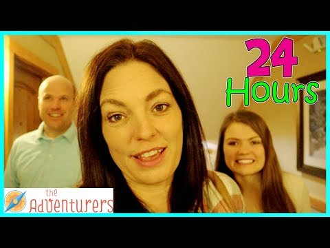24 HOURS in an ENTIRE Hotel (Top Secret Meeting) / That YouTub3 Family | The Adventurers