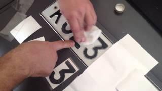 Как правильно клеить пленку на номер Нано авто пленка на номер от камер(Соблюдайте все правила нанесения наноцифр на номер и они послужат вам от 7 лет. более подробная информация..., 2014-01-30T15:13:26.000Z)