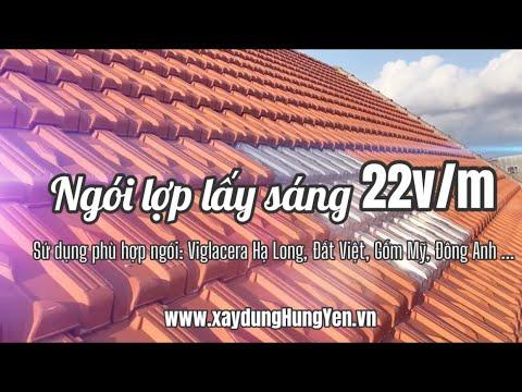 Ngói Lợp Lấy Sáng Thái Lan 22v/m | Ngói Nhựa Lấy Sáng | Ngói Lấy Sáng Viglacera Hạ Long, Đất Việt