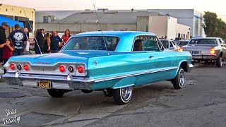 Lowrider Cruise Classic Cars in Los Angeles California