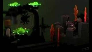 Ghost Train - Lego Animation