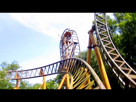 Falcon front seat on-ride HD POV Duinrell