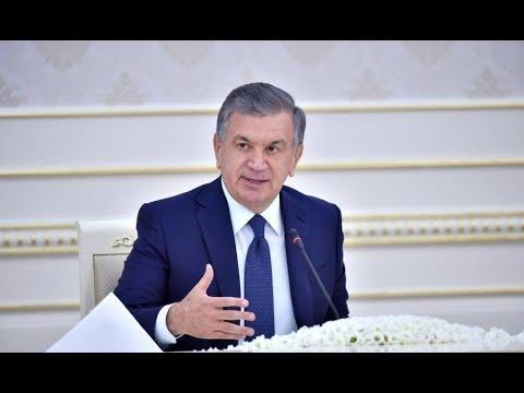 2018-yil 4-iyul Kuni Prezident Shavkat Mirziyoyev Yig'ilish O'tkazdi