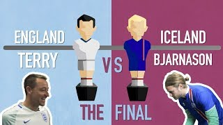 FIFA World Cup 2018 foosball tournament final: Bjarnason v Terry